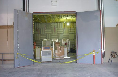 acoustic anechoic chamber