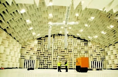 large anechoic testing room