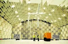 large anechoic testing room