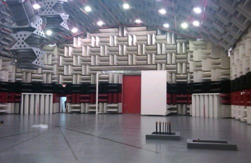 acoustic test chamber