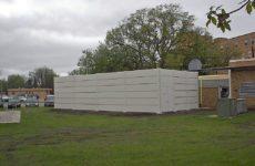 sound barrier walls. Outdoor Sound Barrier Panels Walls