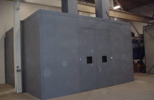 sound isolation enclosure