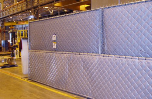 Industrial Noise Control Curtains O Neill Engineered