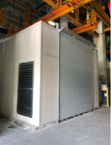 chiller noise enclosure