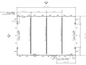 chiller noise enclosure floorplan