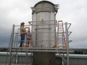 Industrial Exhaust Silencer