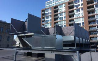 machine shop roof